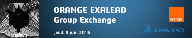 Banniere flyer orange exalead emea summit