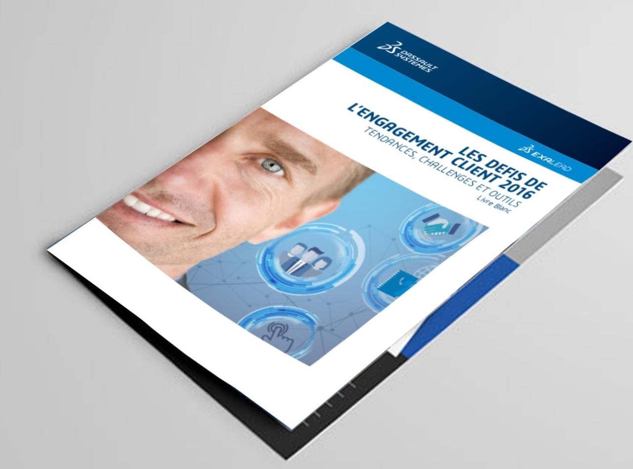 folded brochure