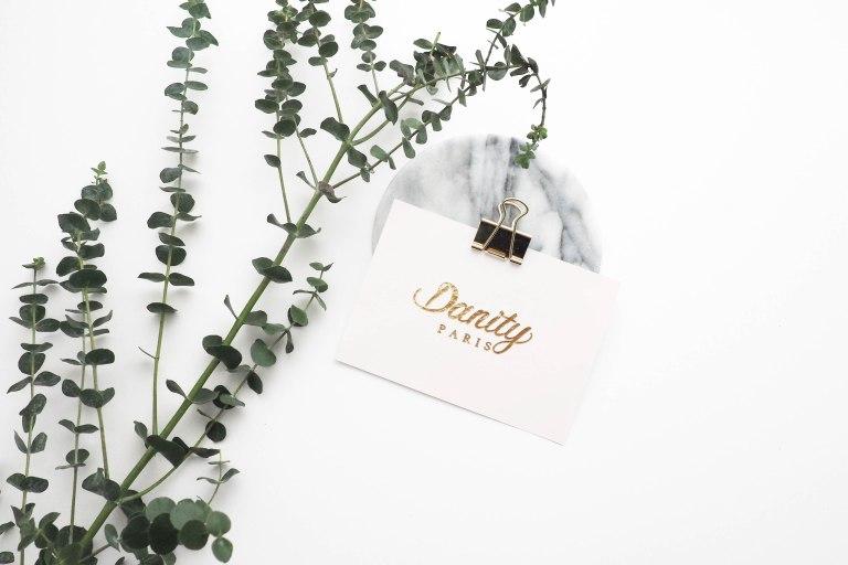 Danity Paris mockup Card
