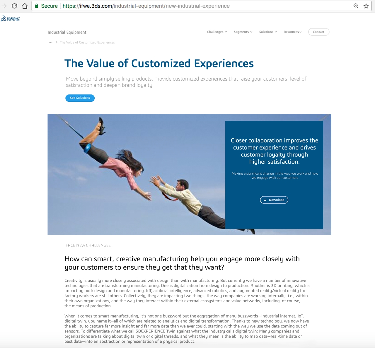 The Value of Customized Experiences